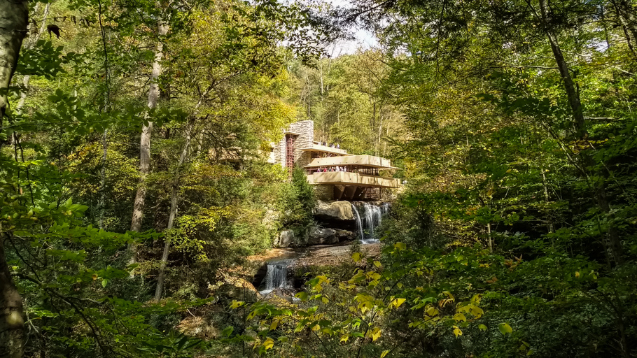 Weekend Trip to Ohiopyle Campground and Fallingwater