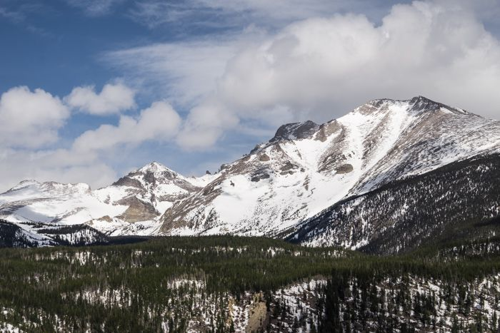 RMNP – Allenspark & Finch Lake-Pear Lake Trails in Winter