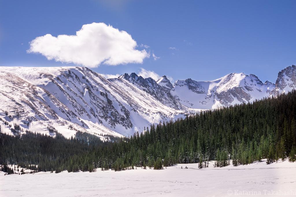 Long Lake Indian Peaks Wilderness Colorado