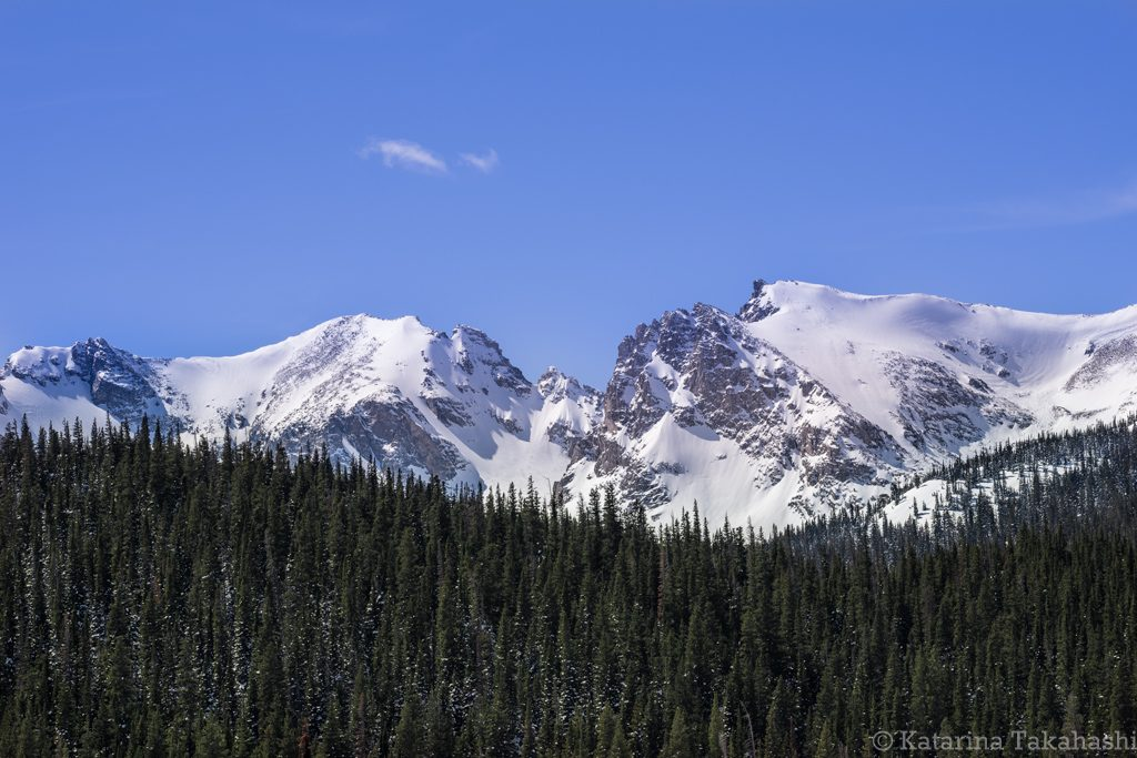 Indian Peaks Mountains