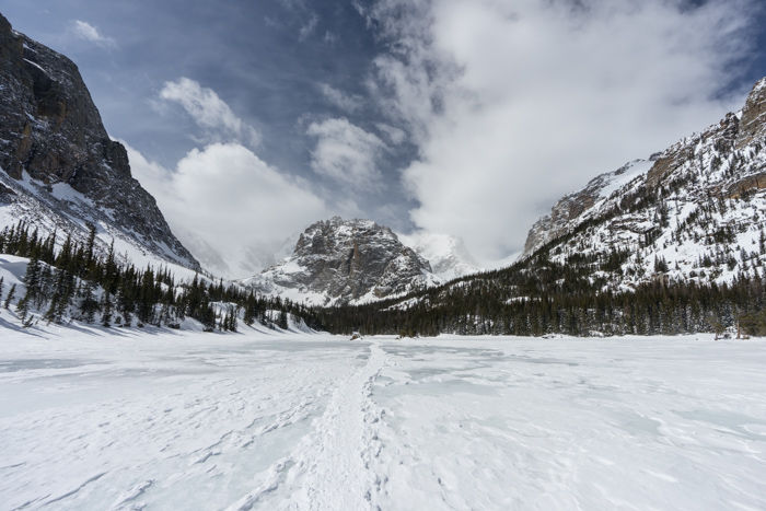 RMNP – Loch Lake in Winter