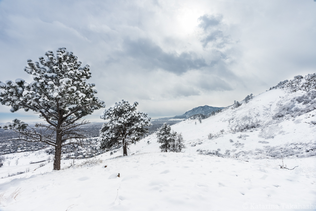 Boulder – Winter Wonderland at Wonderland Lake