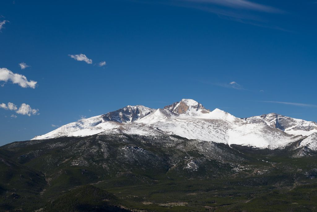 Mt. Meeker and Longs Peak