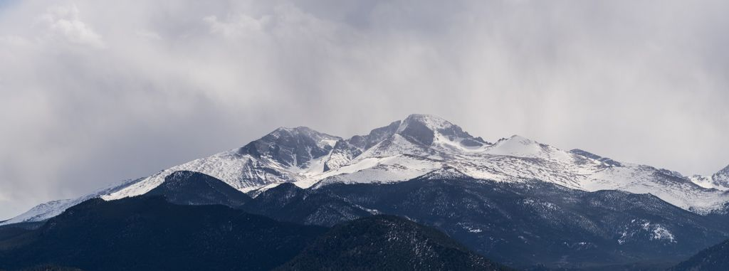 Mt Meeker and Longs Peak