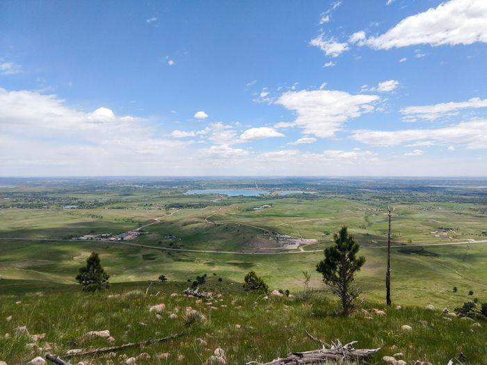 Hogback Ridge summit views