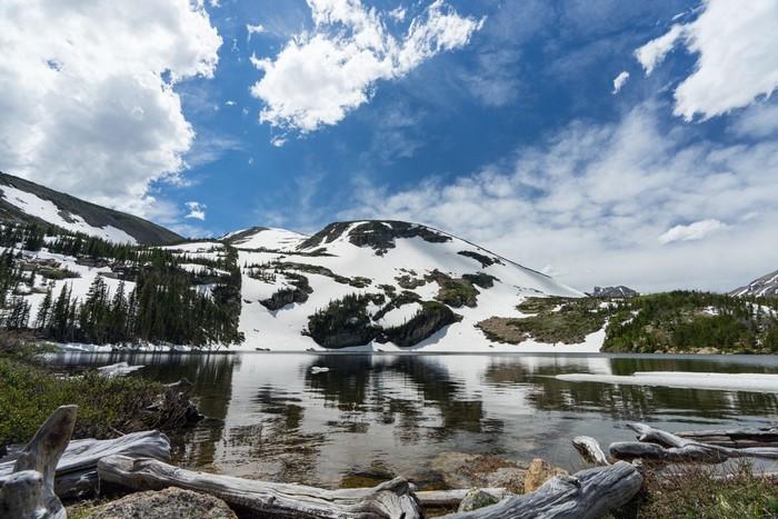 Red Deer Lake Indian Peaks Wilderness Colorado