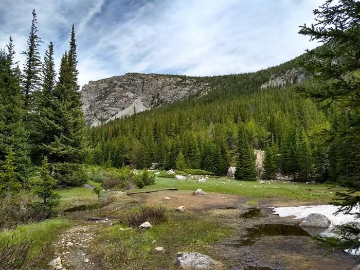 Buchanan Pass Trail Indian Peaks Wilderness Colorado
