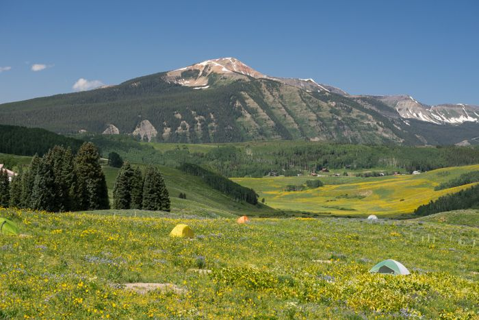 Mt Crested Butte Campground