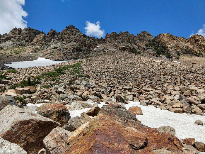 Isabelle Glacier Trail