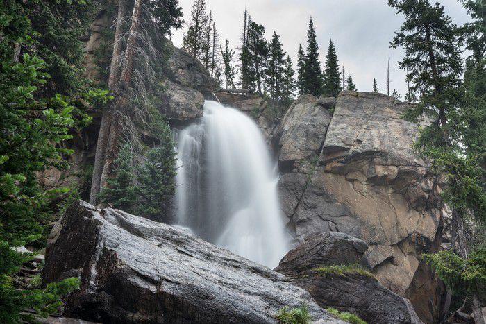 RMNP – Copeland Falls, Calypso Cascades, and Ouzel Falls