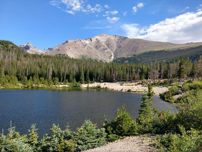 Sandbeach Lake Rocky Mountain National Park