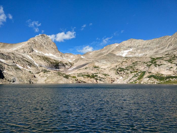 Blue Lake Indian Peaks Wilderness Colorado
