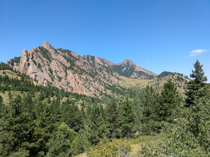 Boulder – Dowdy Draw / Spring Brook / Goshawk Ridge Loop