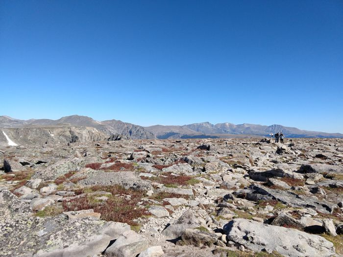 Flattop Mountain Summit