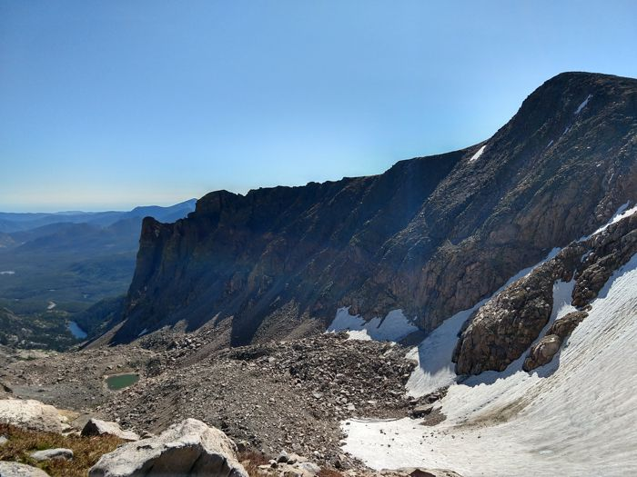 Hallett Peak Tyndall Gorge Tyndall Glacier