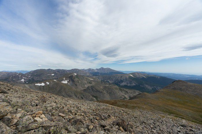 Indian Peaks Wilderness – Mount Audubon Attempt