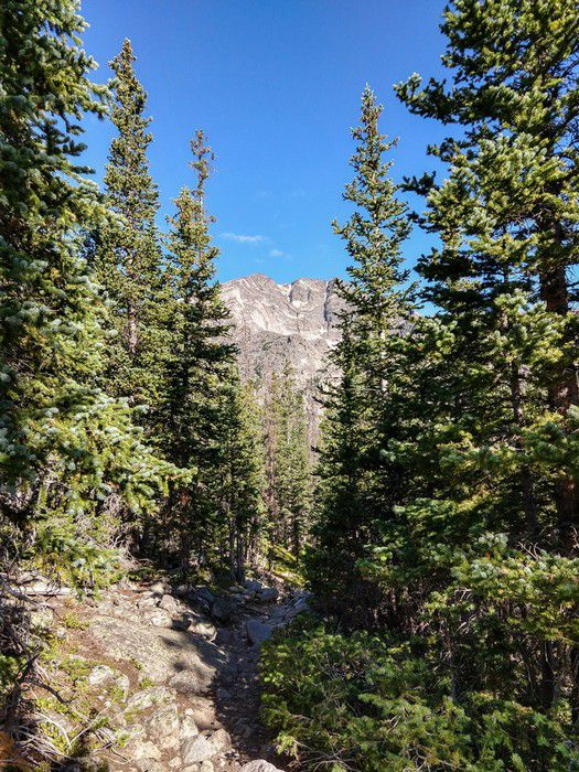 Ypsilon Lake Trail