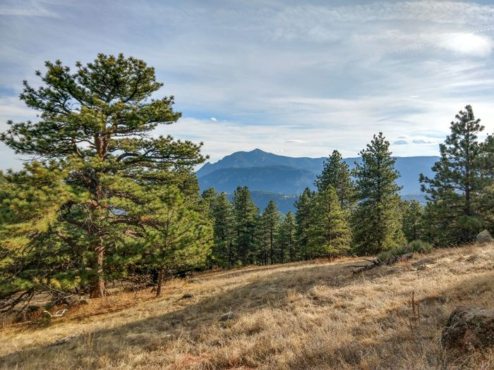 Lions Lair Trail Boulder
