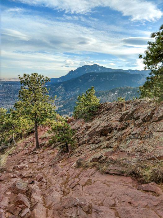 Mt Sanitas Boulder