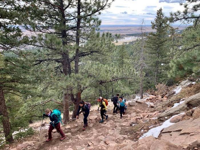 Boulder Hiker Chicks Royal Arch Boulder Colorado Hike