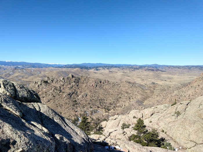 Greyrock Mountain summit views