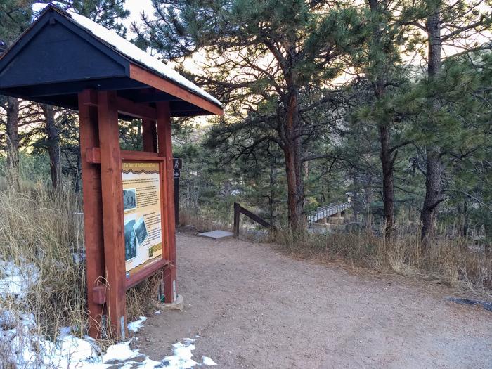 Greyrock Trail trailhead