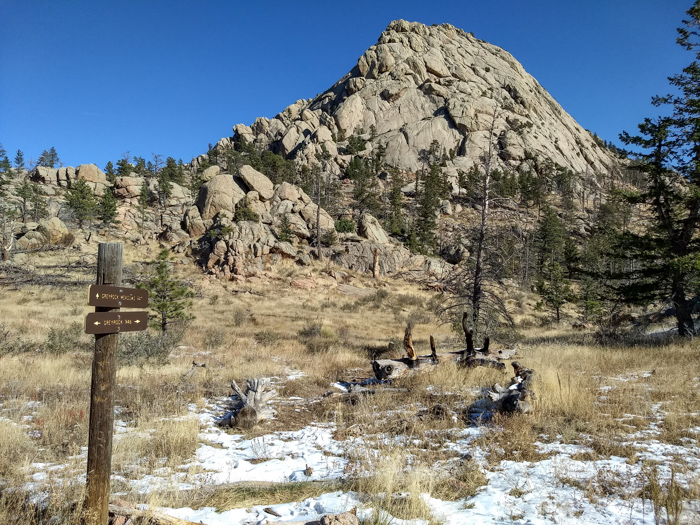 Greyrock Mountain Fort Collins Colorado