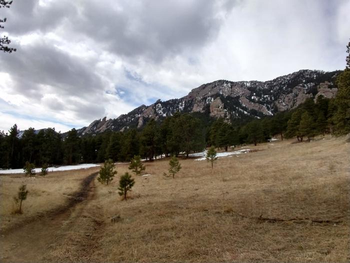 Shanahan Ridge Trail Boulder