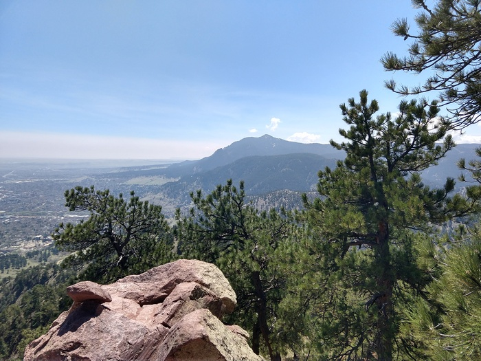 Mt Sanitas summit Boulder Colorado