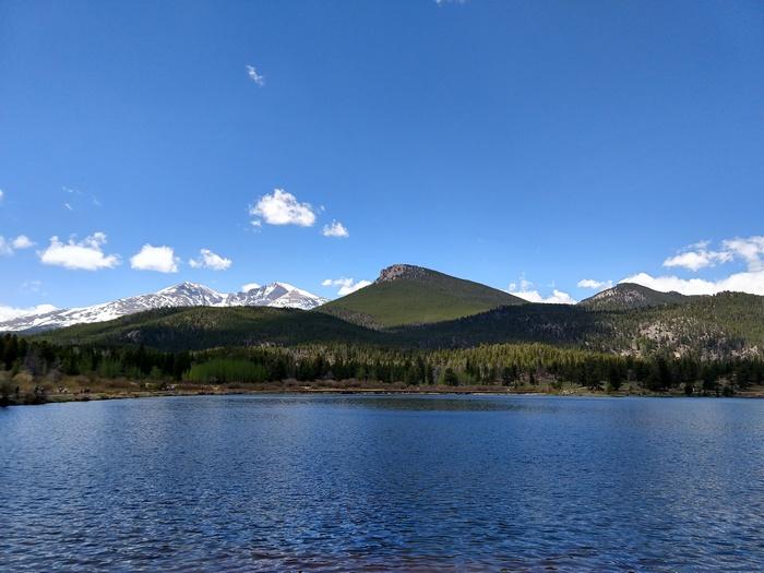Lily Lake Rocky Mountain National Park Estes Cone