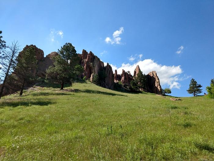 Red Rocks Boulder Colorado