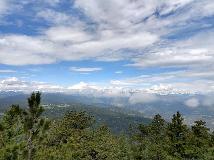 Green Mountain Summit Views Boulder