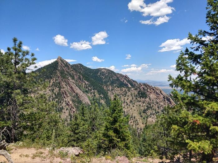 Bear Mountain Trail Boulder