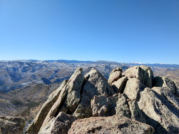 Greyrock Mountain Ft Collins Colorado summit view