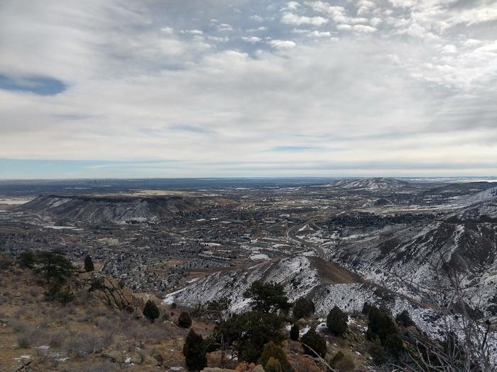 Mount Galbraith views