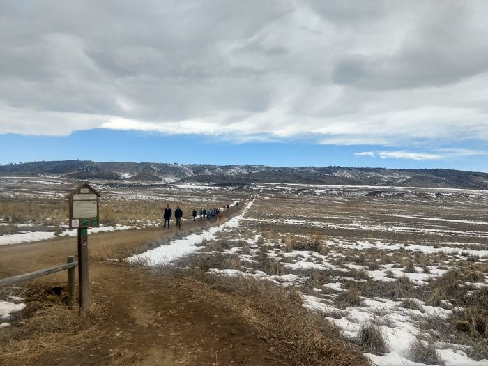 Coyote Ridge Trail trailhead