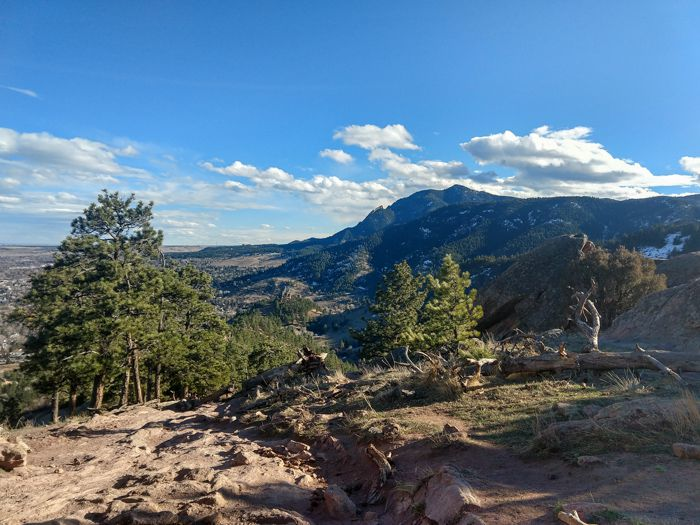 Boulder – Mt. Sanitas Loop via Dakota Ridge Trail