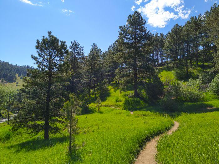Sunshine Canyon Trail Boulder Colorado