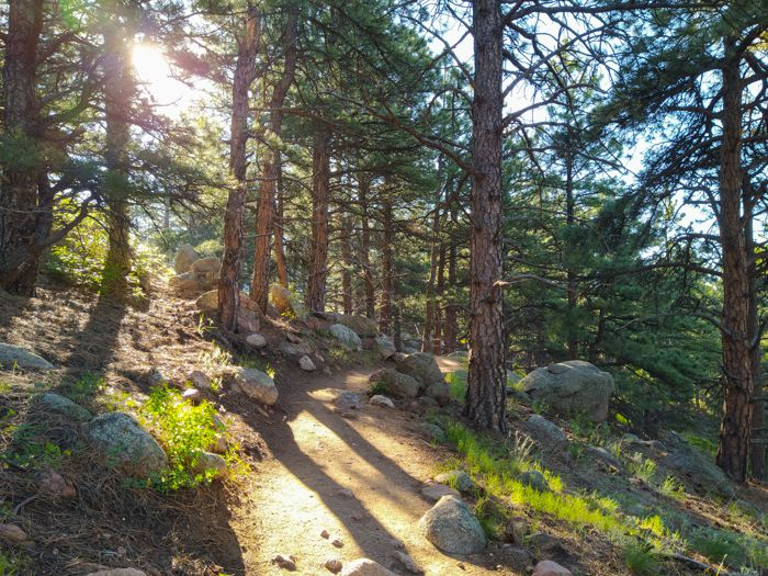 Lion's Lair Trail Boulder Colorado
