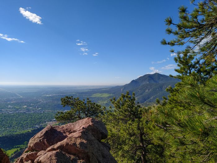 Boulder – Mt. Sanitas via Sunshine Canyon & Lion's Lair Trails in Summer