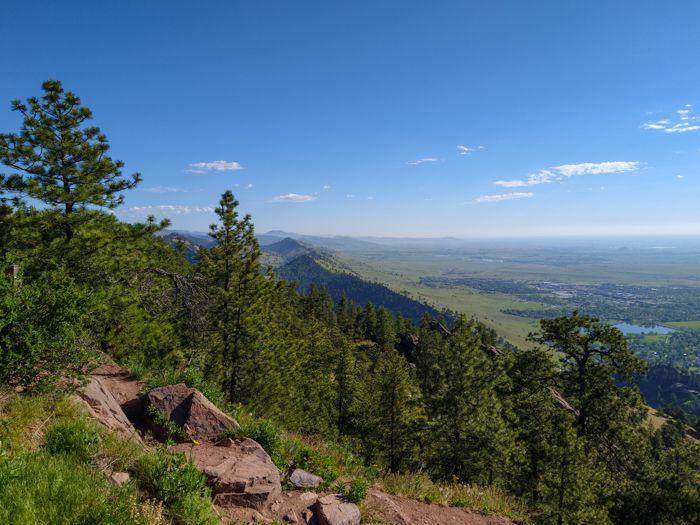 Mt. Sanitas Boulder Summit View