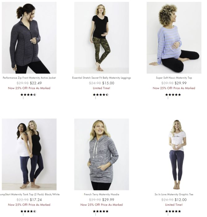Motherhood Maternity activewear