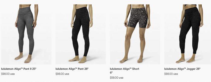 Lululemon Align leggings