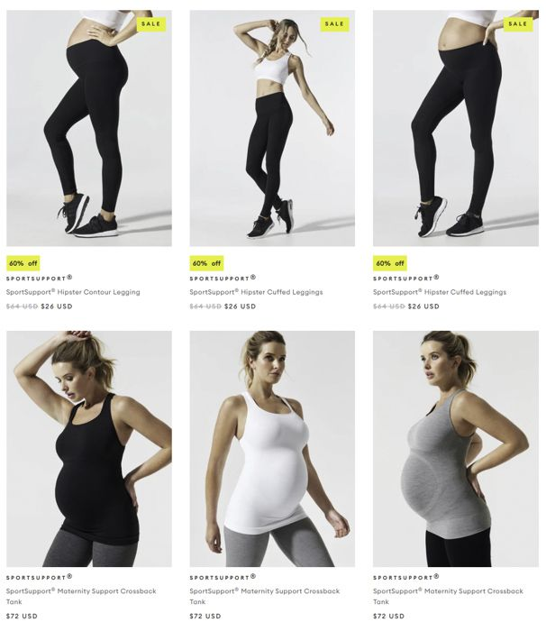 Blanqi maternity activewear
