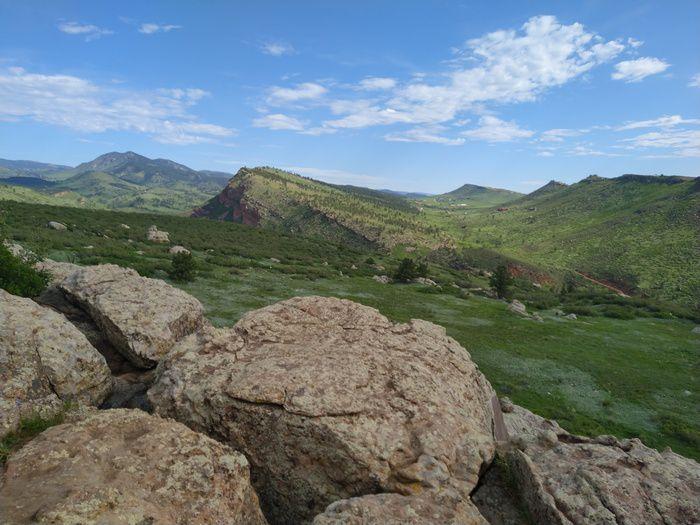 Little Thompson Overlook Trail viewpoint Rabbit Mountain