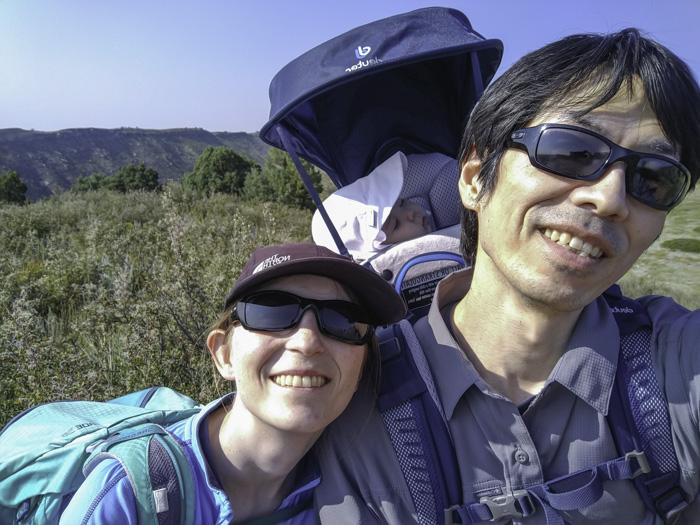 Baby Yuzu's First Hike – Little Thompson Overlook Trail at Rabbit Mountain